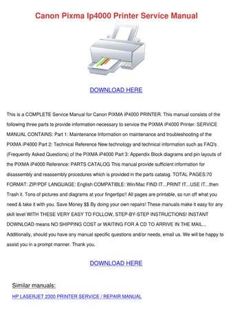 canon lbp3300 series laser printer service repair manual parts catalog