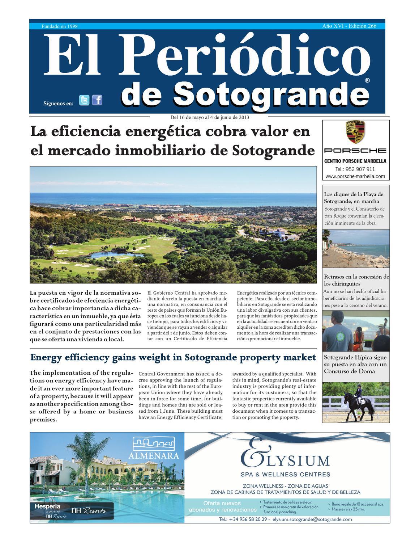 El Periódico de Sotogrande Ed 266 by HCP GROUP SOTOGRANDE - issuu