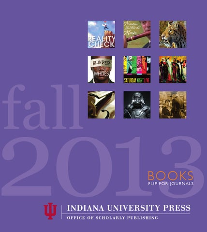 Indiana university press fall 2013 catalog by indiana university page 1 fandeluxe Images