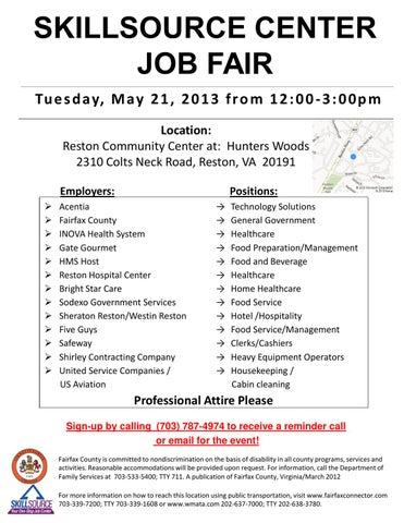 Skillcourse Center Job Fair by Extended Learning Institute