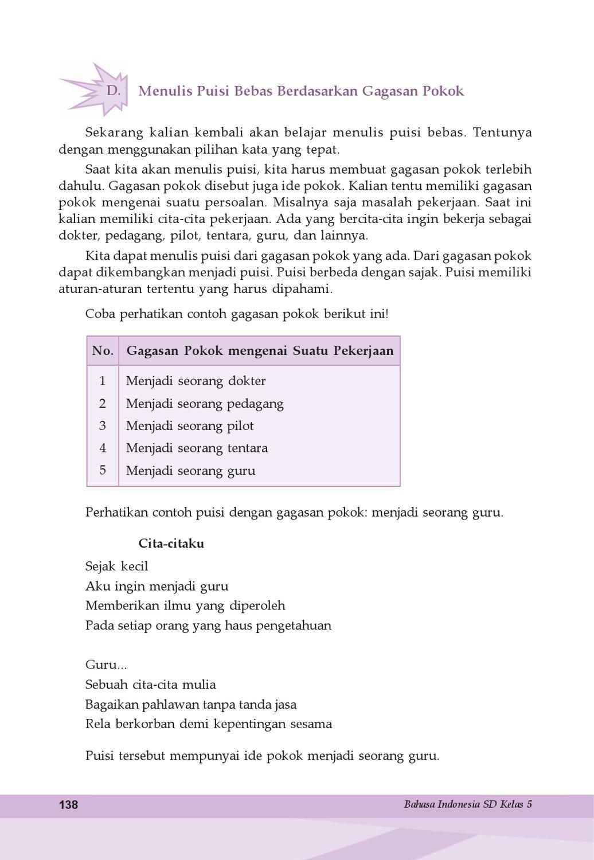 Kelas 5 Bahasa Indonesia Samidi By Yeti Herawati Issuu