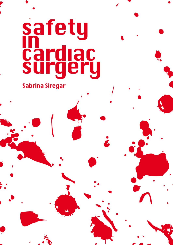 Safety In Cardiac Surgery By Nicole Nijhuis Issuu