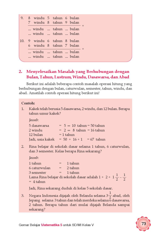 Kelas 5 - Gemar Belajar Matematika - Aep By Yeti Herawati - Issuu