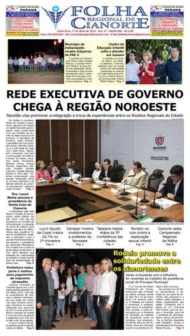 36c819ad0c Folha Regional de Cianorte - Edicao 696 by Folha Regional de ...