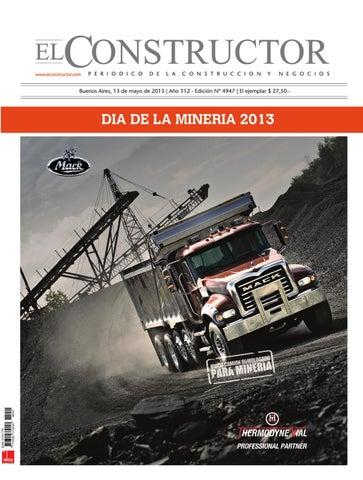 El Constructor - 13 05 2013 - Año 112 - DIA DE LA MINERIA 2013 by ... 3a63fcf2dc19