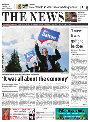 Maple Ridge News, May 17, 2013 by Black Press Media Group