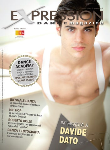 Expression Dance Magazine Maggio 2013 by IDA International Dance ... c0bccebb484f