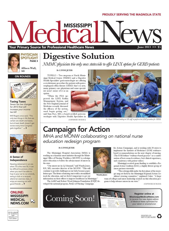 Mississippi Medical News June 2013