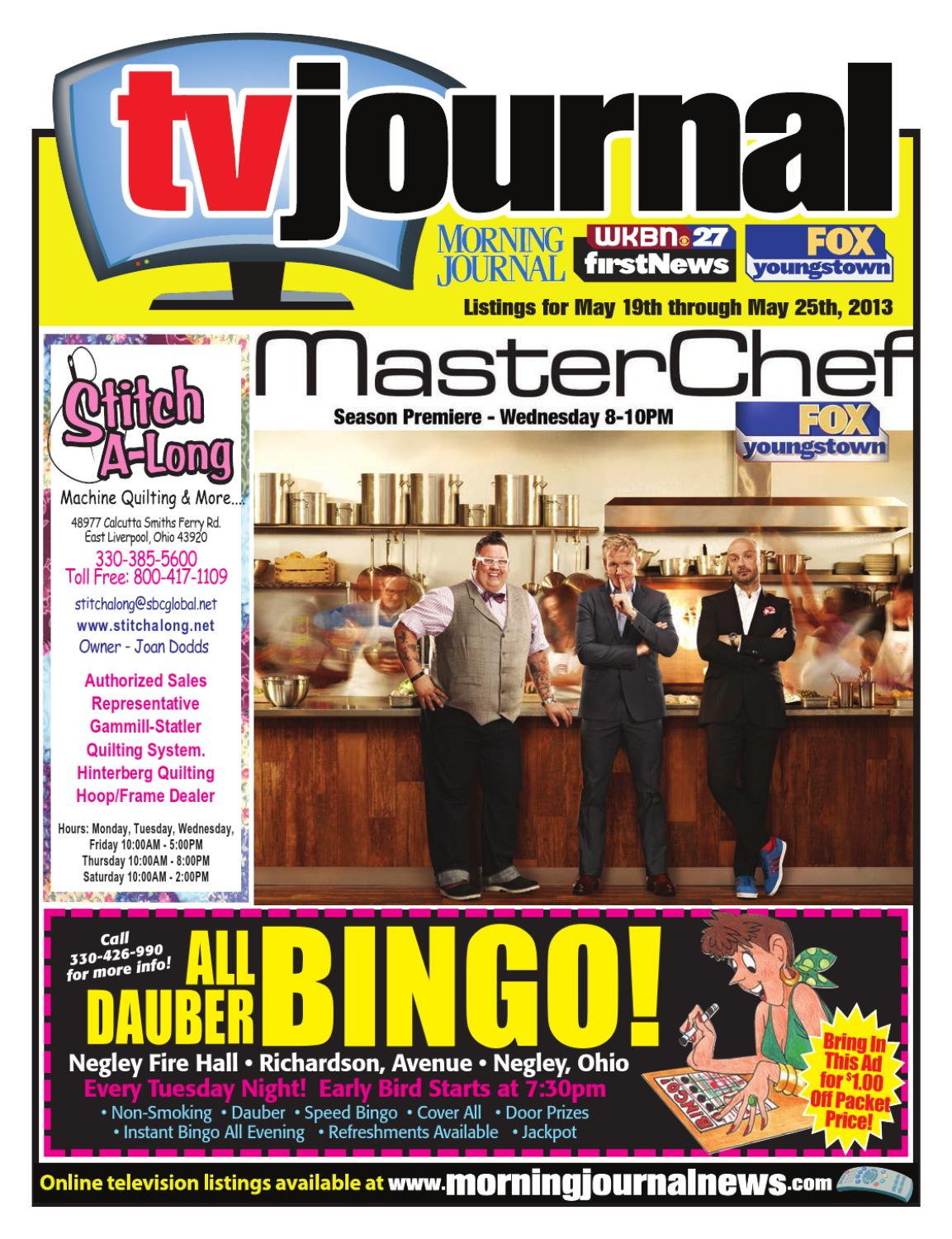 f2b56a108 Morning Journal TV Listings by Morning Journal - issuu