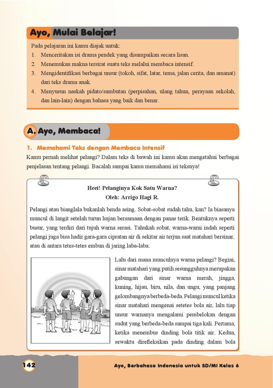 Kelas 6 Ayo Berbahasa Indonesia Ida Hamidah By Yeti Herawati Issuu