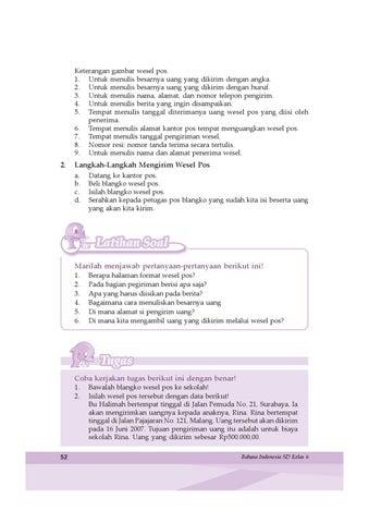 Kelas 6 Bahasa Indonesia Samidi By Yeti Herawati Issuu