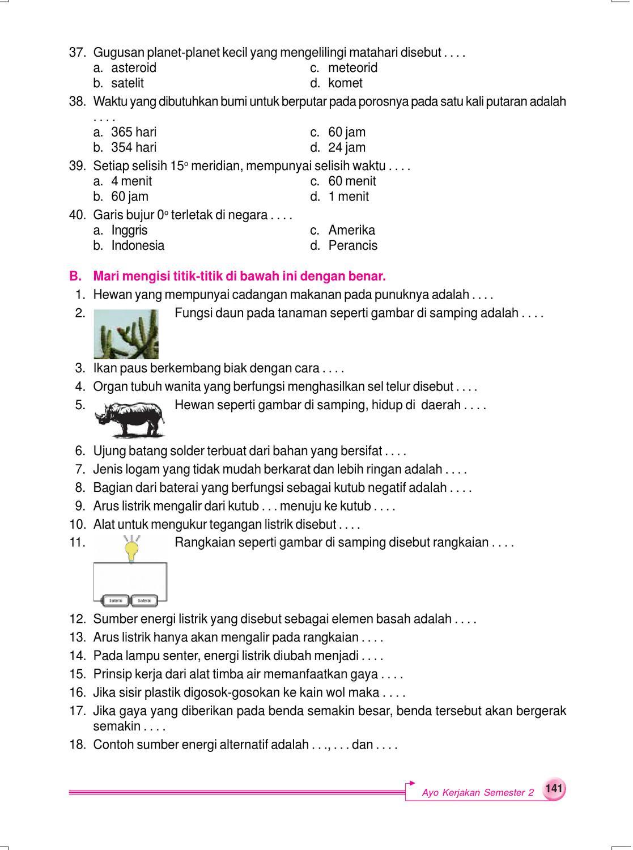Kelas 6 Sains Ilmu Pengetahuan Alam Sularmi By Yeti Herawati Issuu