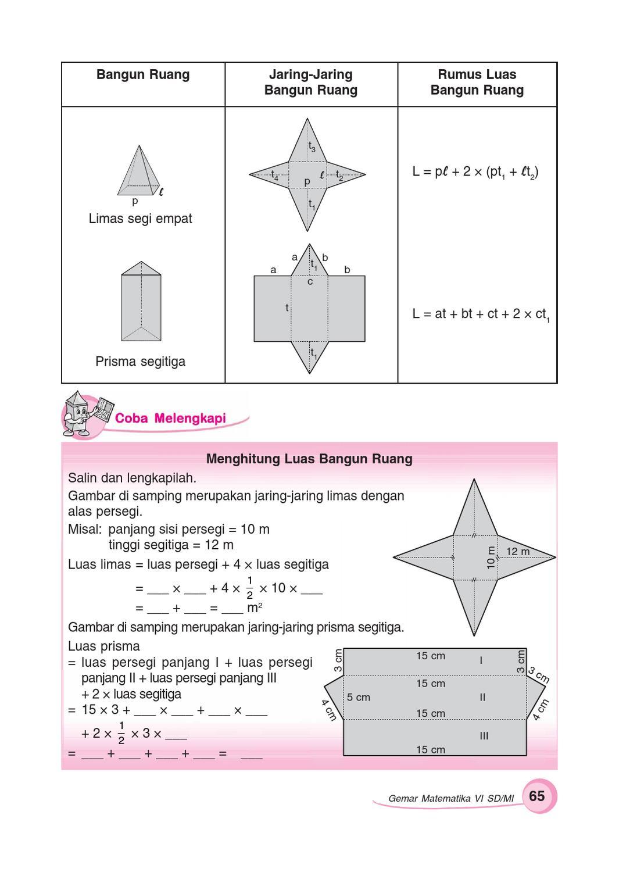 Kelas 6 Gemar Matematika Sumanto By Yeti Herawati Issuu