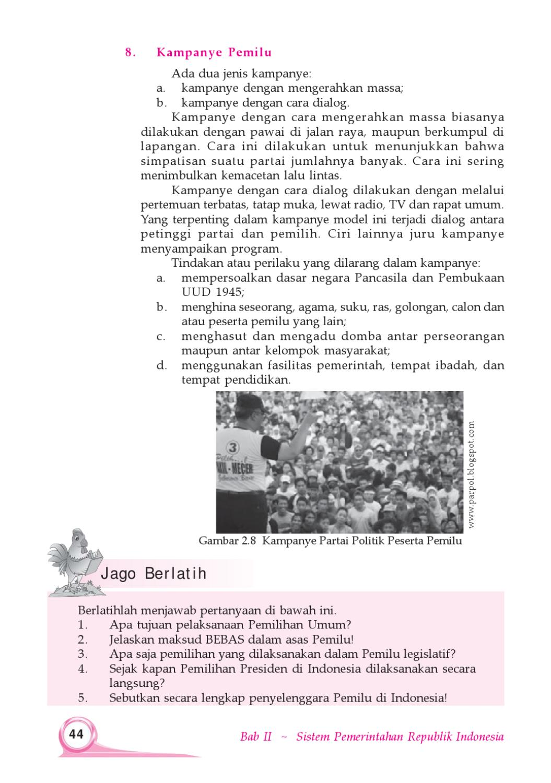 Sebutkan Asas Asas Pemilu Di Indonesia - Coba Sebutkan