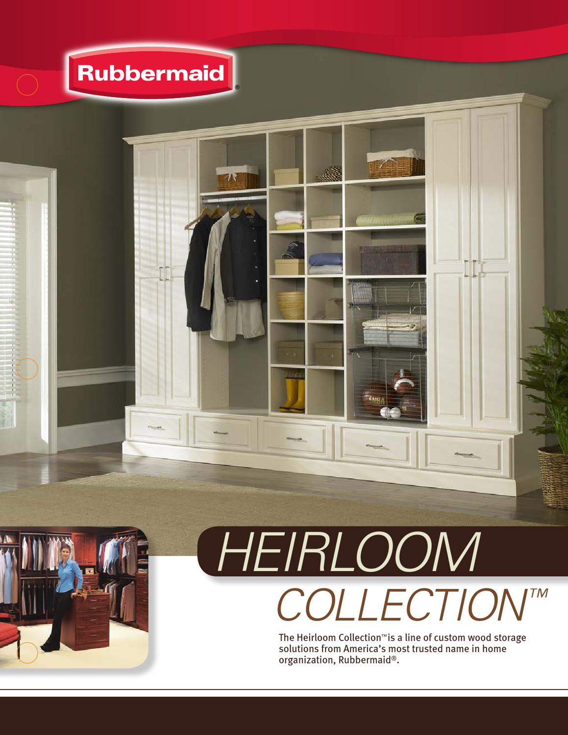Rubbermaid Heirloom Collection By Showroom Partners Issuu
