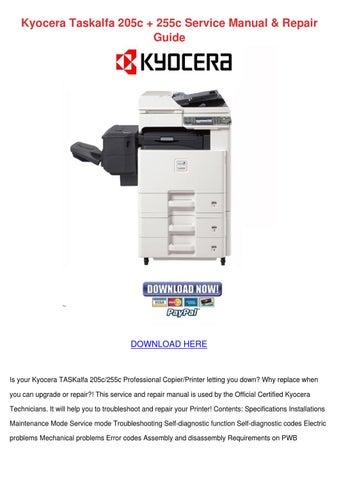Kyocera Km 5050 Error Code List PDF Download - mandegar info
