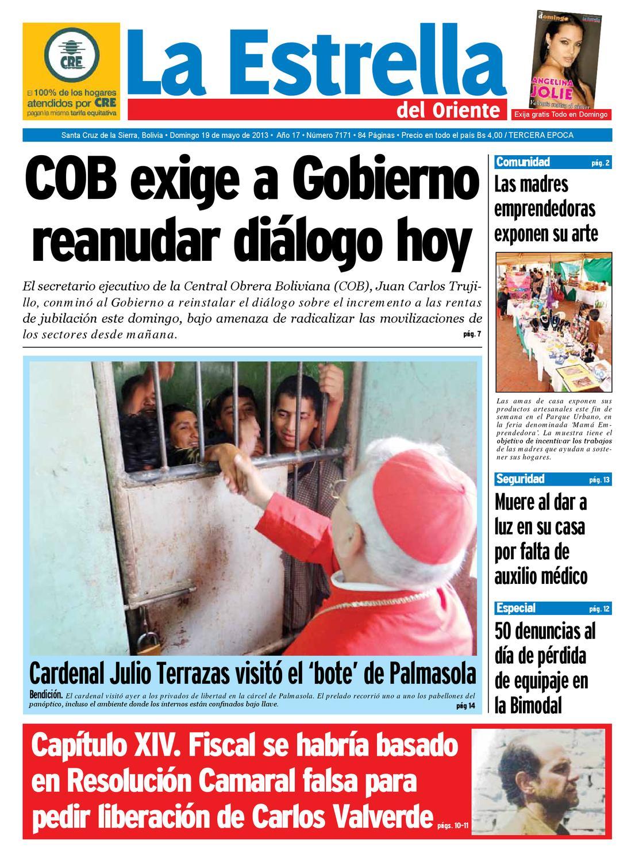 EDICION 19-05-2013 by La estrella del oriente - issuu