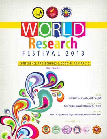 IAMURE WRF 2013 BOA by IAMURE Multidisciplinary Research - issuu