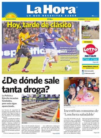 Diario La Hora El Oro 19 de Mayo 2013 by Diario La Hora Ecuador - issuu 996b1789417a7