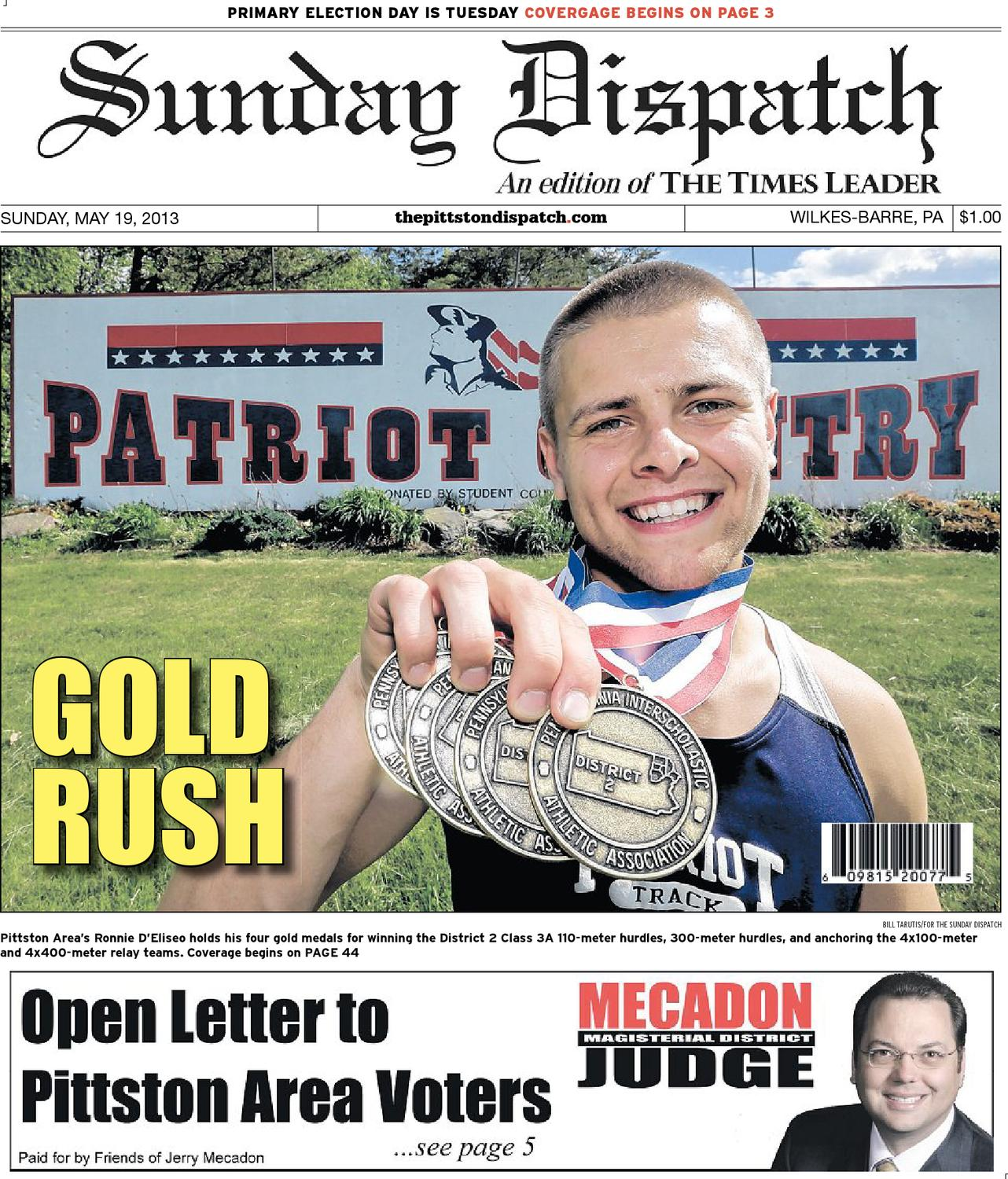 The Pittston Dispatch 05 19 2013 By Wilkes Barre Publishing Locklock Fridge Door Jug 11l Abf732 Company Issuu