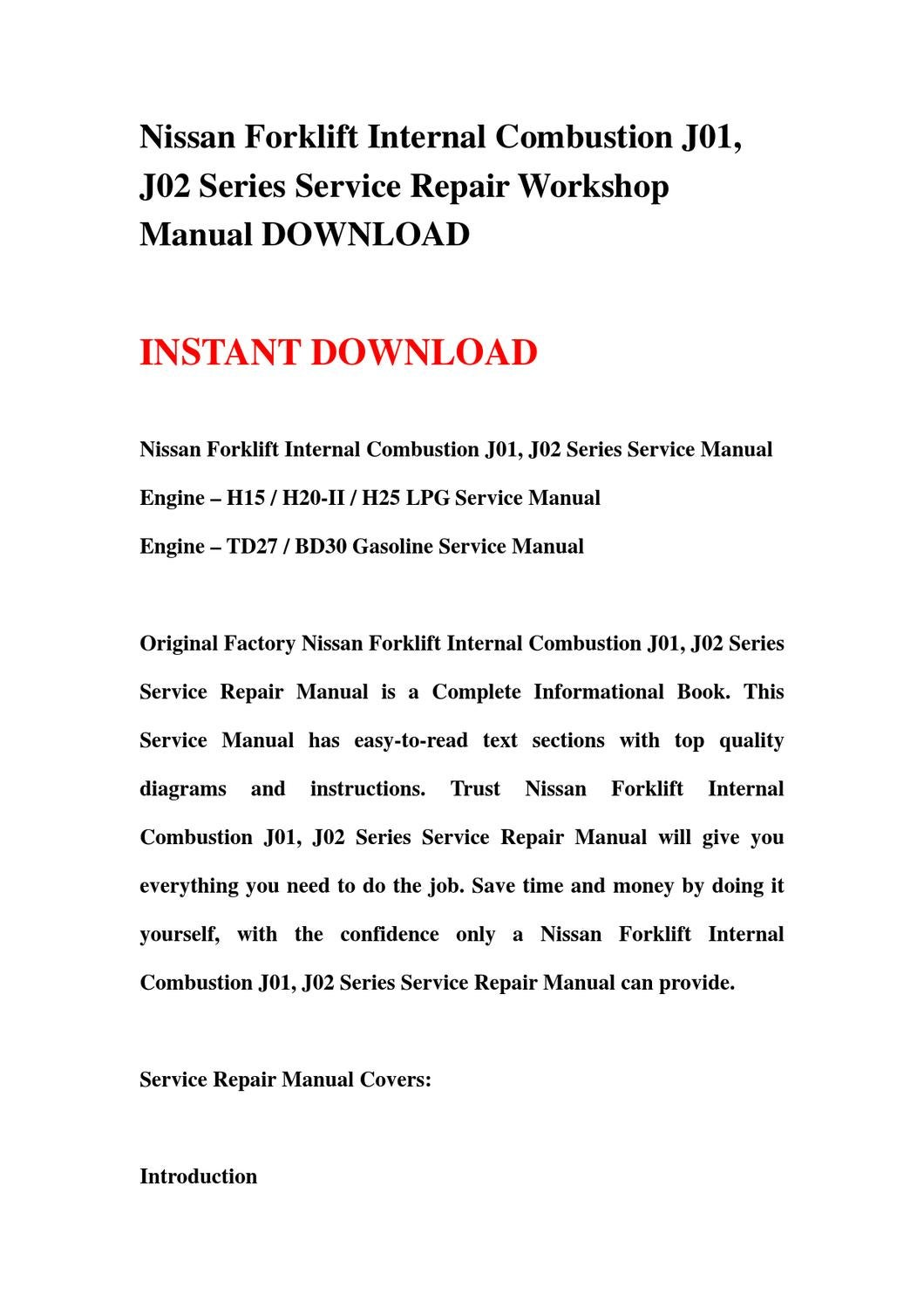 nissan bd30 engine manual enthusiast wiring diagrams