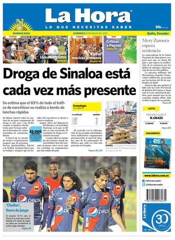 Edición impresa Nacional del 19 de mayo de 2013 by Diario La Hora ... 93d185c6f1f42