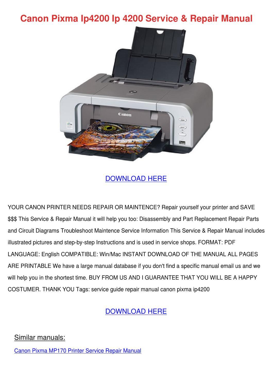 ip4200 user manual