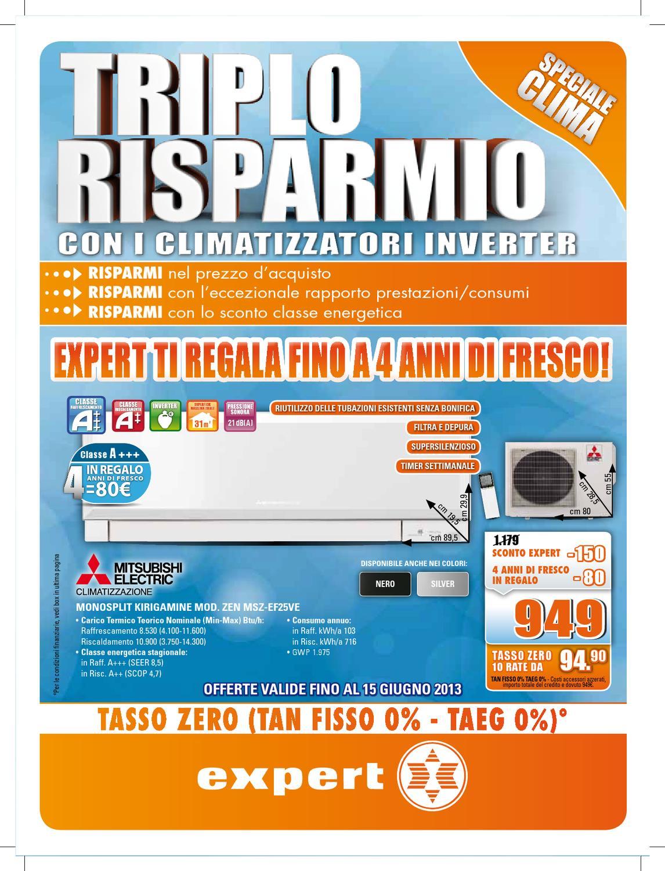Triplo risparmio con i climatizzatori inverter by fanti for Climatizzatori classe energetica a