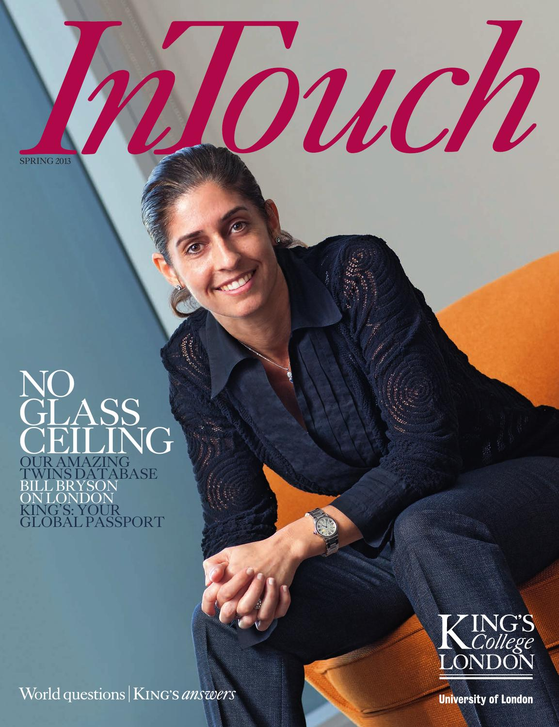 In Touch Spring 2013 By King S College London Issuu