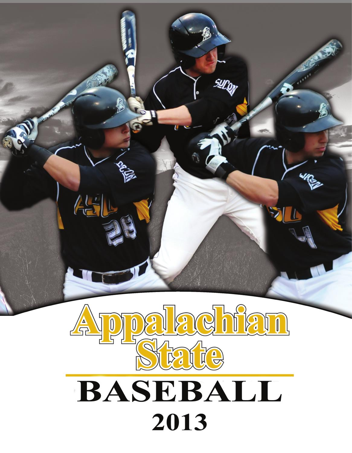 cab0898db 2013 Appalachian State Baseball Media Guide by Appalachian State University  Athletics - issuu