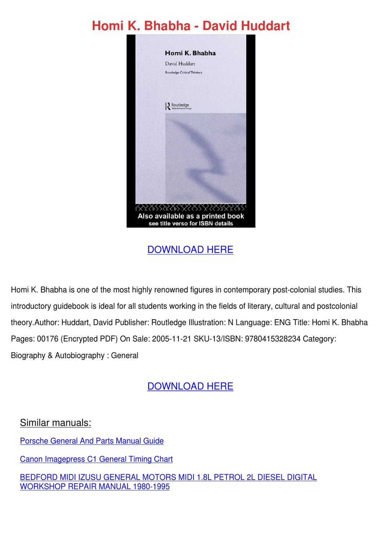 Canon C1 Imagepress Manual Download