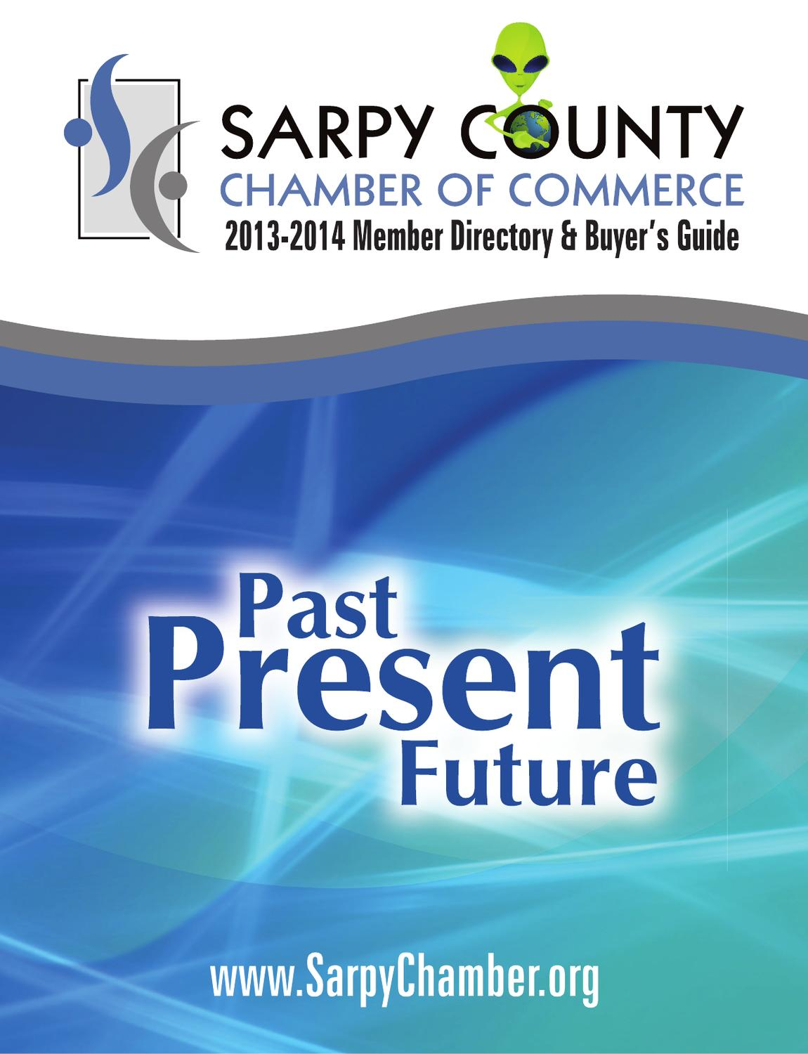 Sarpy County Chamber of Commerce 2013 Directory by Suburban