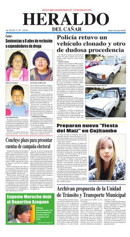 Heraldo del Cañar by Noticias del Cañar - issuu b2062ec5143