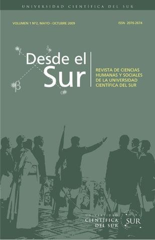 Desde el Sur Vol. 2 N° 2 by Biblioteca Cientifica - issuu 0ab025689f4