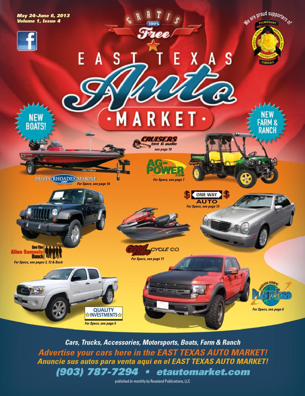 east texas auto market volume 1 issue 4 by ronnie mason issuu issuu