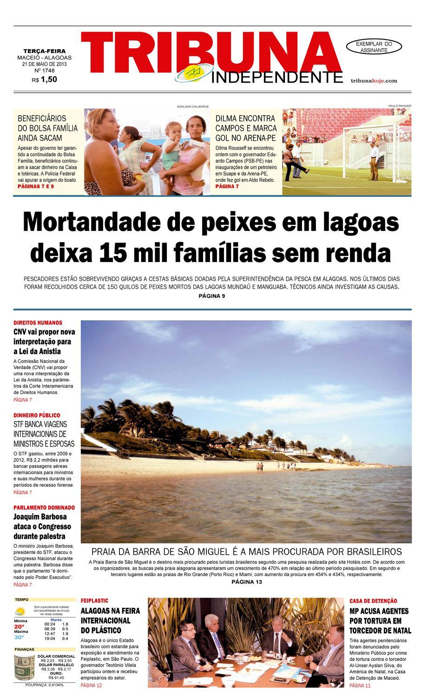 9193df1d980 Edição número 1748 - 21 de maio de 2013 by Tribuna Hoje - issuu