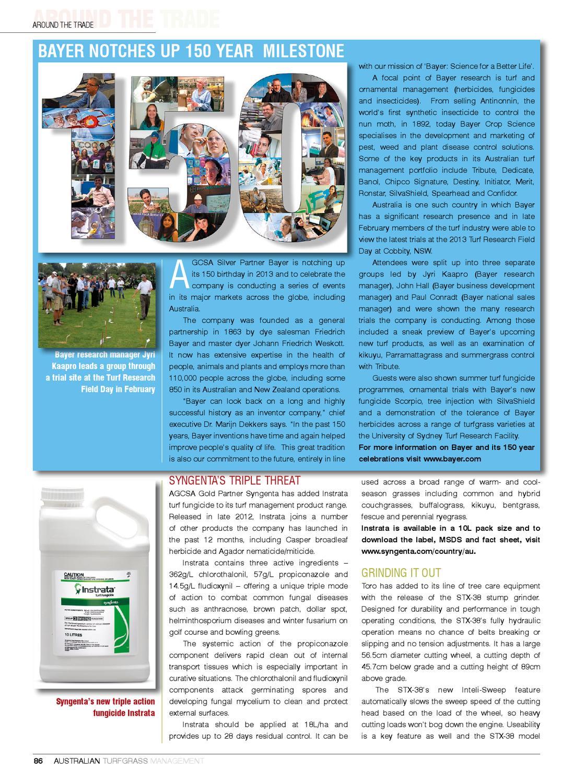 Australian Turfgrass Management Journal - Volume 15 3 (May