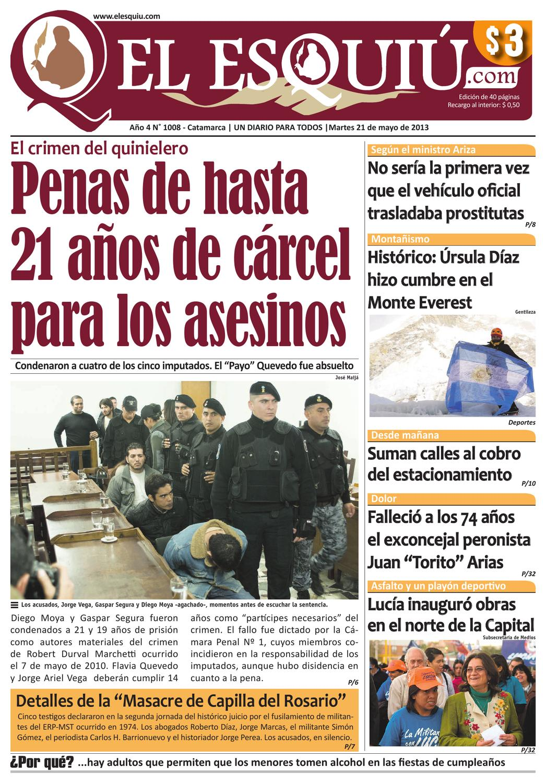 El Esquiu Com Martes 21 De Mayo De 2013 By Editorial El Esqui  # Muebles Tati Cochabamba