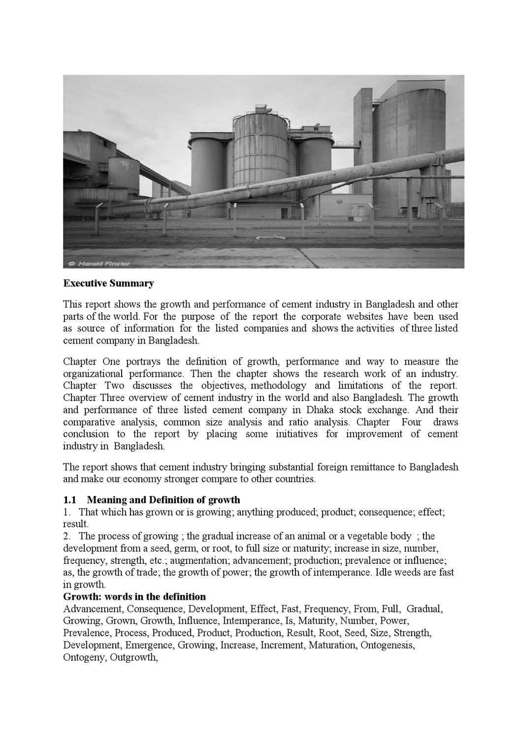 cement industry in bangladesh Earnings management behavior: a study on the cement industry of bangladesh helaluddin ahmed1 lecturer, department of business administration, world university of bangladesh md azim lecturer, department of business administration, world university of.