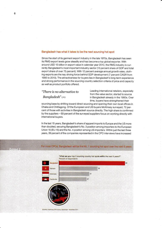 McKinsey Ready Made Garment Report by BGCCI Bangladesh German