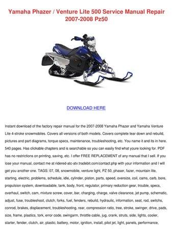 Yamaha Phazer 90 Free manual