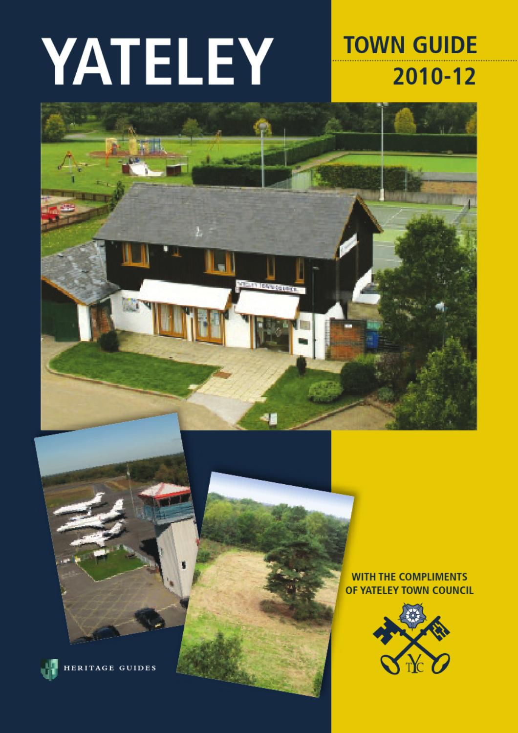 Yateley Town Guide By Tim Pearce