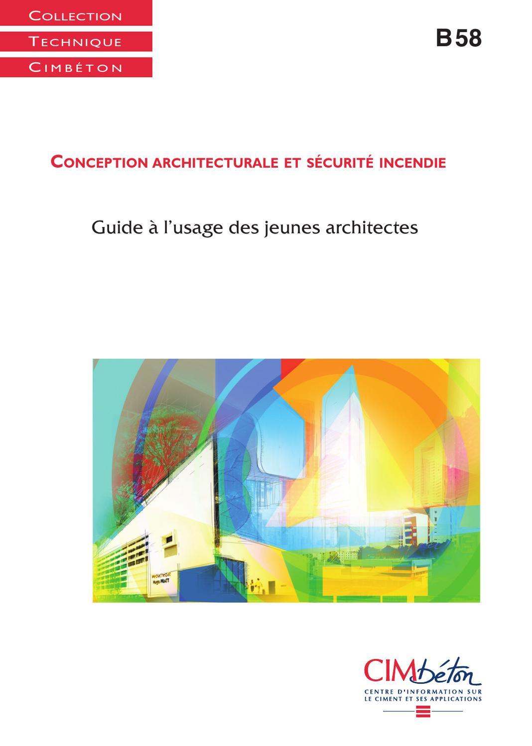 24671dc118be8 Conception architecturale et sécurité incendie by infociments fr - issuu