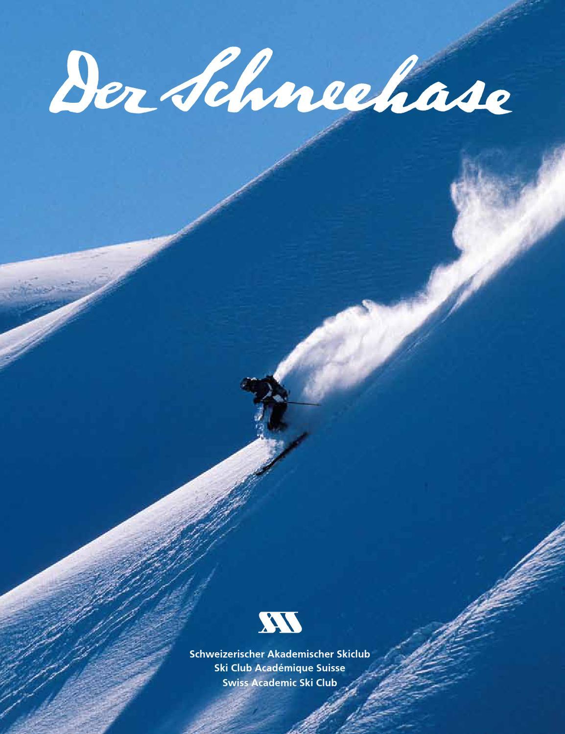 Der Schneehase Nummer 38 by Swiss Academic Ski Club issuu