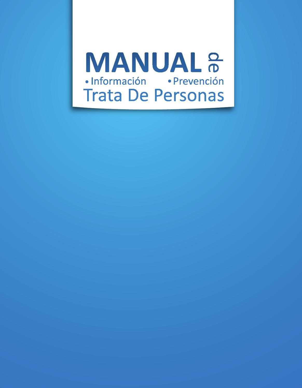 Manual de informaci n y prevenci n de trata de personas by for Comedores pequea os para 4 personas