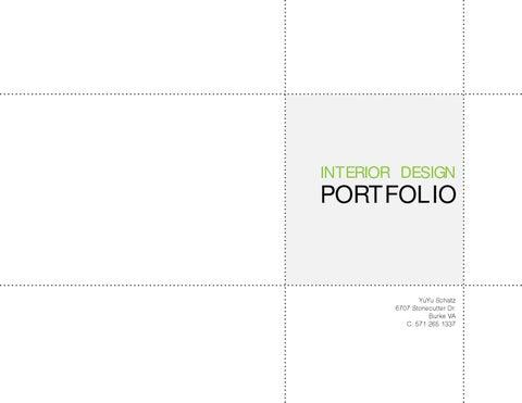 interior design portfolio by yuyu schatz issuu