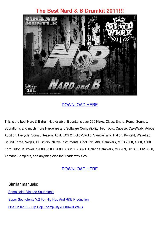 The Best Nard B Drumkit 2011 by Willette Galbavy - issuu