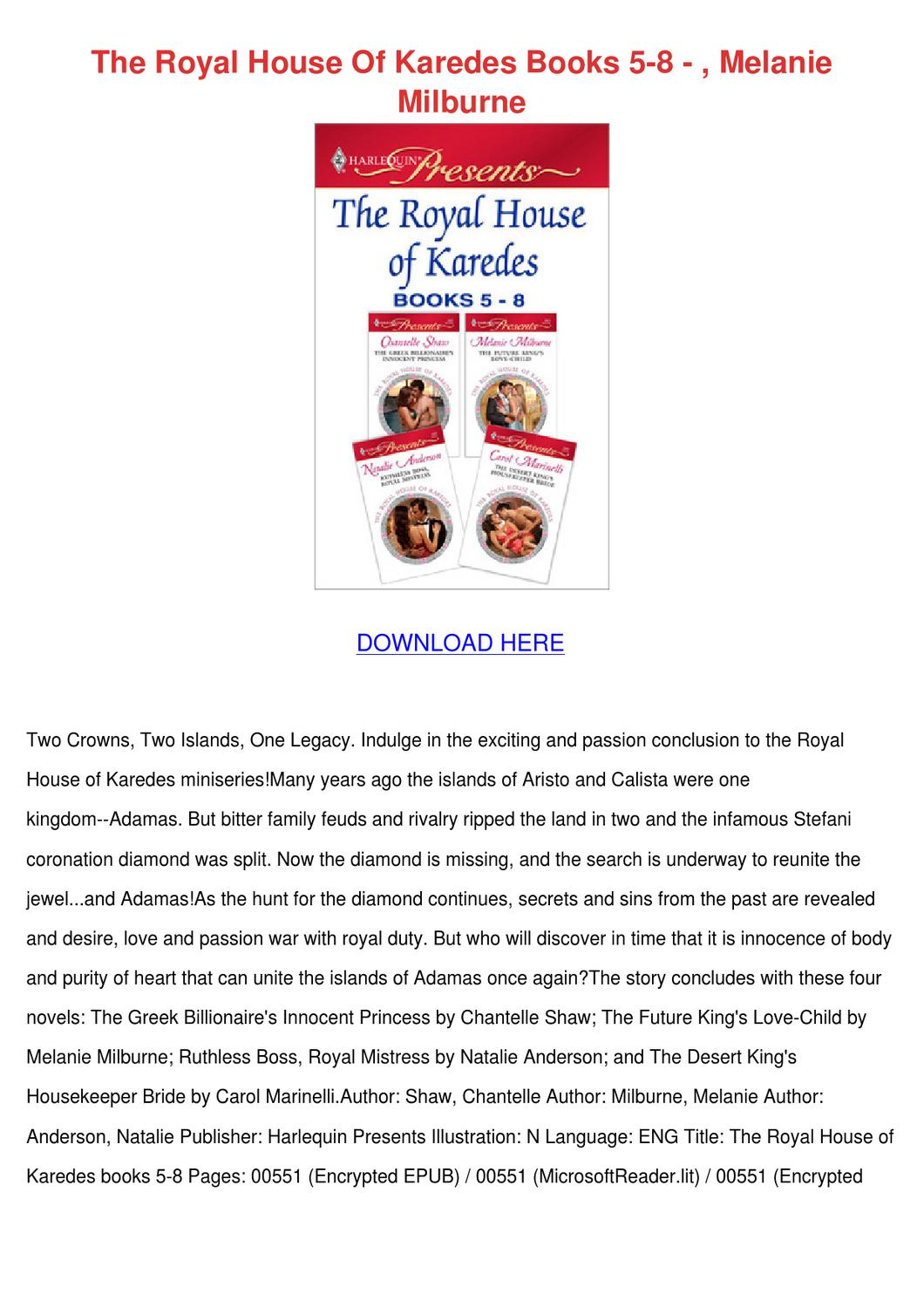 The royal house of karedes pdf viewer