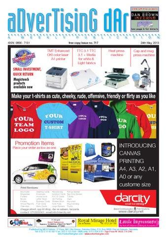 Advertising Dar Issue No 717