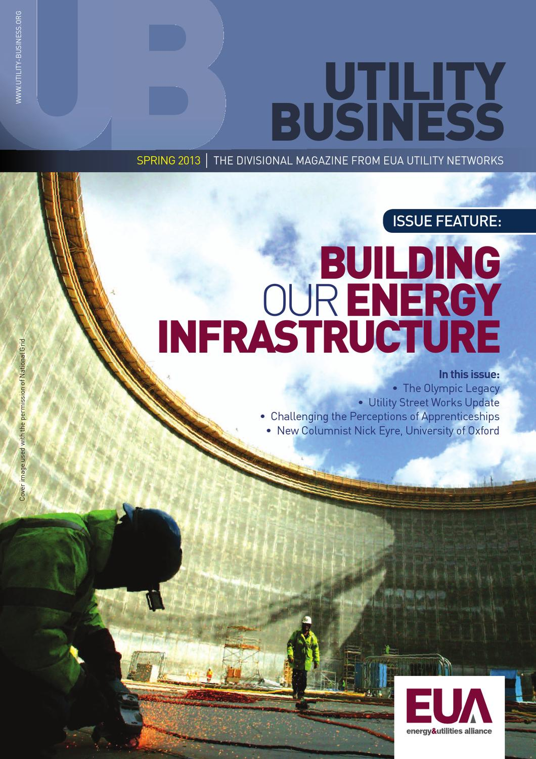 Utility Business Spring 2013 by Energy and Utilities